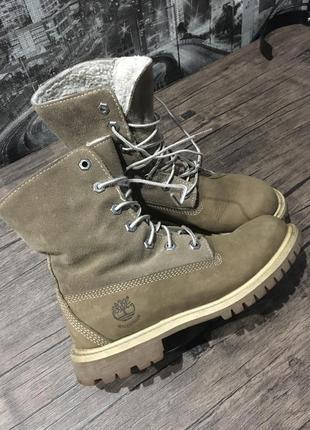 Оригинальные зимние ботинки timberland