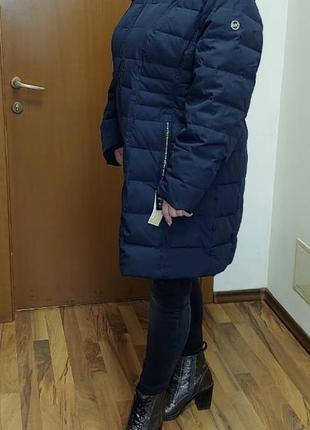 Супер модная, тёплая куртка- пальто  большого размера от michael kors! торгуйся!!!