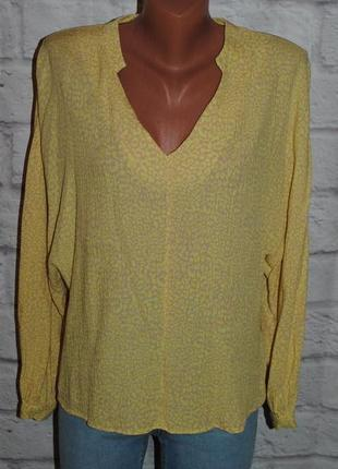 """Блуза с объемными рукавами """"f&f"""""""