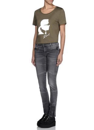 Шикарные джинсы karl lagerfeld, 100% оригинал