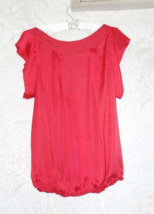 Блуза на резинке с коротким рукавом