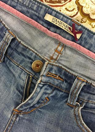 Крутые джинсы скини stradivarius