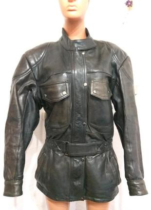 Женcкая кожаная мотокуртка held 38 р