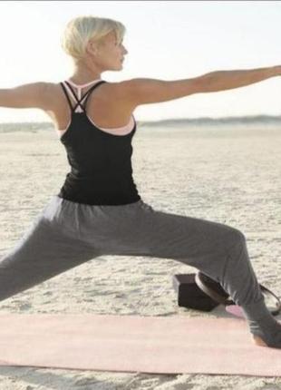 Штаны для йоги, фитнеса, для дома от немецкого бренда crivit yoga. л