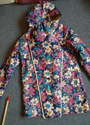 Куртка, слинго куртка, куртка для беременных на весну осень или теплую зиму
