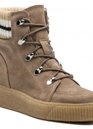 Замшевые ботинки  tamaris р.37 -23,5см