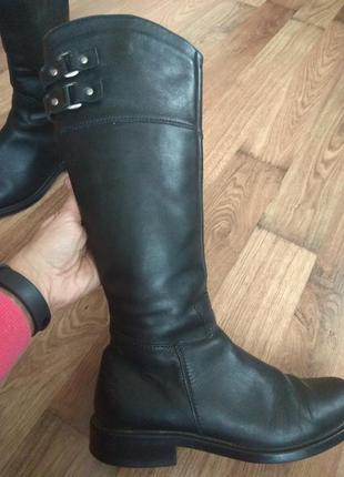 Сапоги кожаные р 38