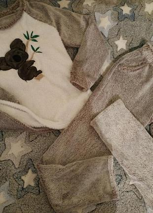Махровая пижама с коалой