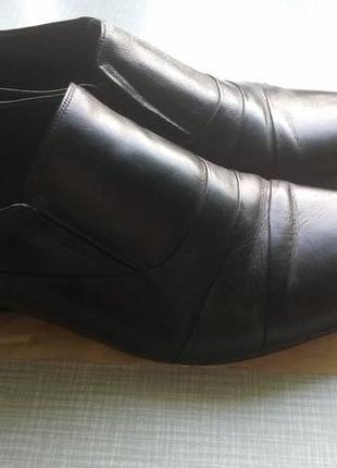 Кожаные туфли fortuno кожаные б/у в хорошем состоянии