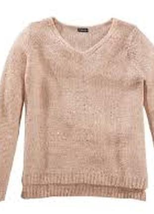 Нарядный свитер с пайетками esmara