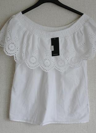 Новая модная  блузка р. 34-xs-40  reserved
