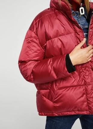 Mango куртка - пуховик оверсайз м- l размер . новая с бирками7 фото