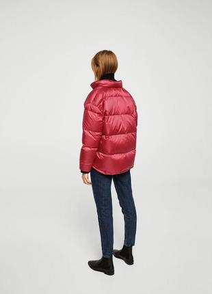 Mango куртка - пуховик оверсайз м- l размер . новая с бирками3 фото