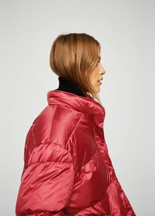 Mango куртка - пуховик оверсайз м- l размер . новая с бирками5 фото