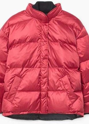 Mango куртка - пуховик оверсайз м- l размер . новая с бирками6 фото