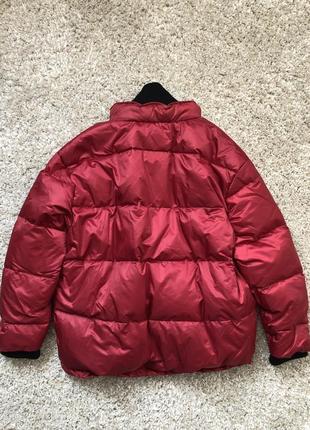 Mango куртка - пуховик оверсайз м- l размер . новая с бирками8 фото