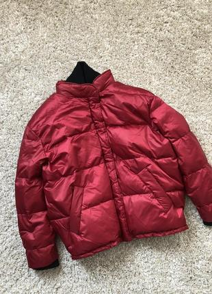 Mango куртка - пуховик оверсайз м- l размер . новая с бирками2 фото