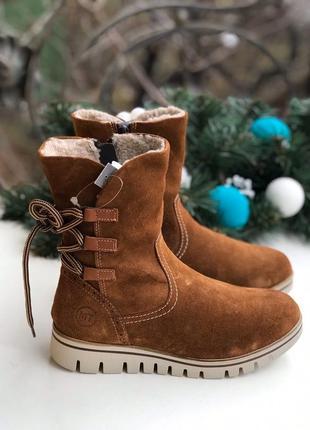 36-39 р теплые ботинки c мехом