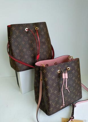 Кожаная сумочка луи виттон