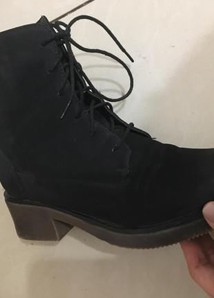 Зимние грубые ботинки