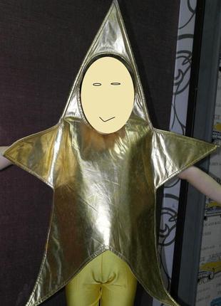 Tesco костюм звезда карнавальный новогодний