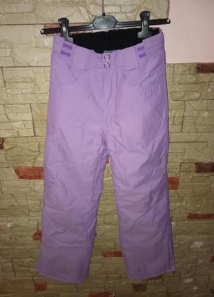 Акция лыжные штаны inside 140см мембрана 10000