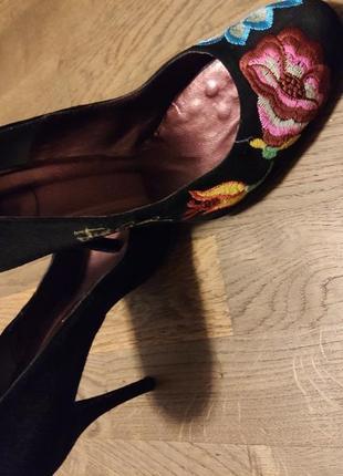 Туфли just cavalli 38 черный