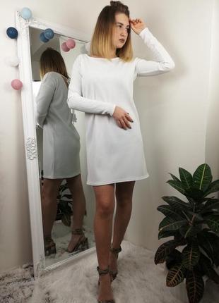 Брендовое стильное платье missguided