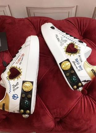 Супер кроссовки d&g