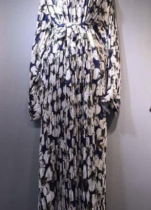 Платье плиссировка