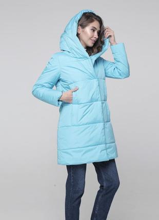 Скидка! женская зимняя куртка с капюшоном высокого качества! распродажа
