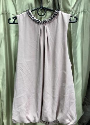 Блуза нарядная цвета пудры  бренда аmisu