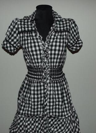 Платье- рубашка р.s
