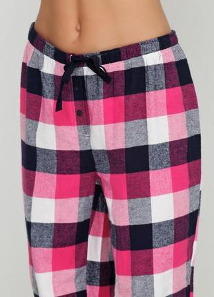 Фланелевые пижамные брюки,штаны