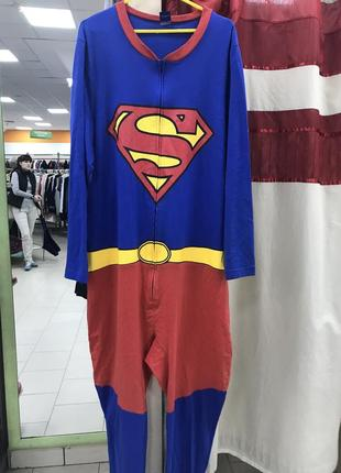 Костюм комбинезон пижама кугуруми супермен
