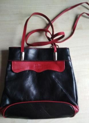 Pelle женская сумка-рюкзак кожа