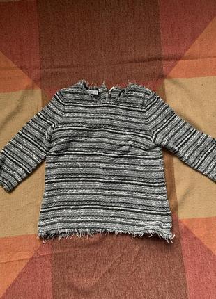 Классная твидовая кофта от mango крутая кофта красивый свитерок