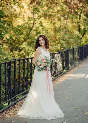 Свадебное платье размер s