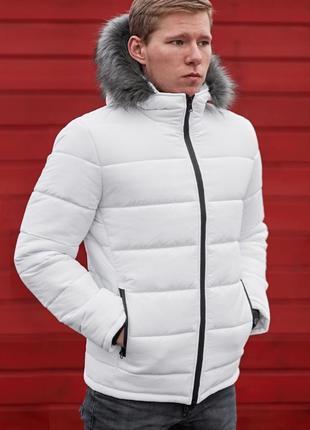 Куртка пуховик парка мужская