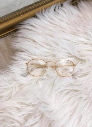 Стильные имиджевые очки нулевки
