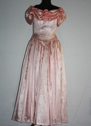 Платье бальное винтажное, р.s