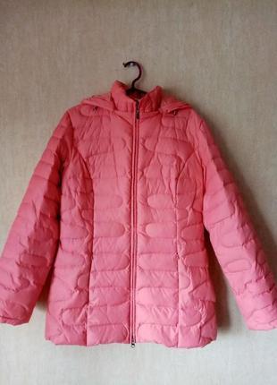 Женская пуховая куртка, размер 46