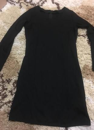 Трикотажное платье esmara с рукавами esmara