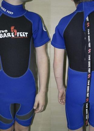 Two bare feet  4-6 лет детский гидрокостюм бассейн костюм неопрен плаванье море