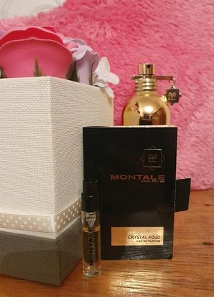 Montale crystal aoud/монталь/ пробник