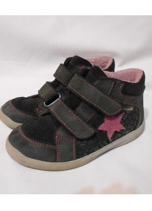 Утепленные ботинки ricosta sympatex р.27. германия.
