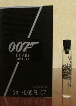 Парфюмированная вода james bond 007 seven intense остаток 1,2 мл.