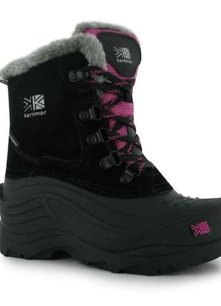 Зимние сноубутсы сапоги ботинки прорезиненные karrimor 39 40