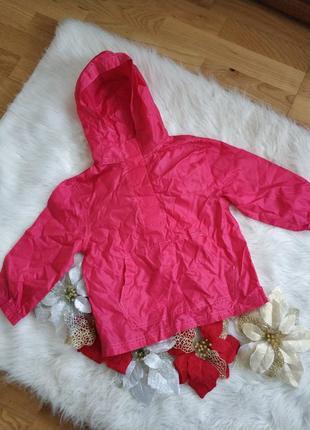 Куртка плащовка дощовик вітровка для дівчинки 3-4 рочки george