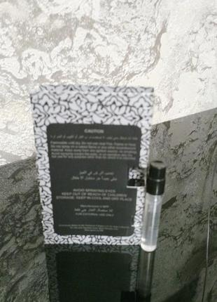 Attar collection musk kashmir_original mini vial spray 2 мл книжка миниатюра пробник3 фото